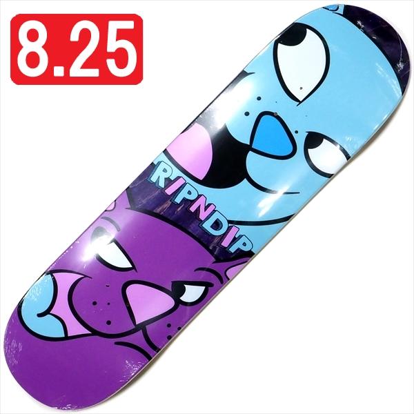 """【8.25"""" デッキ スケートボード リップンディップ】Rip N Dip Pop Nerm Blue 8.25"""""""
