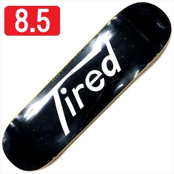 """【8.5"""" デッキ スケートボード タイレッド】Tired Long T Logo Regular 8.5"""""""