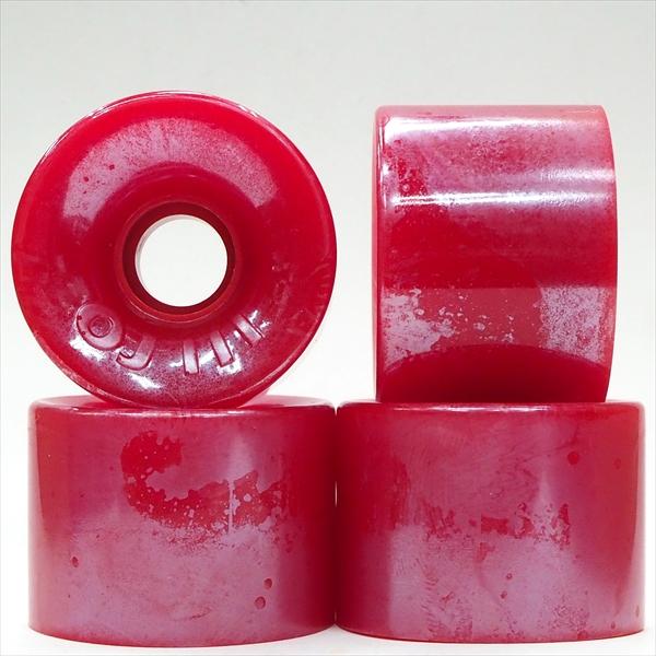 【60.0mm スケートボード ウィール オージェイ】OJ3 Hot Juice 78A 60mm Red