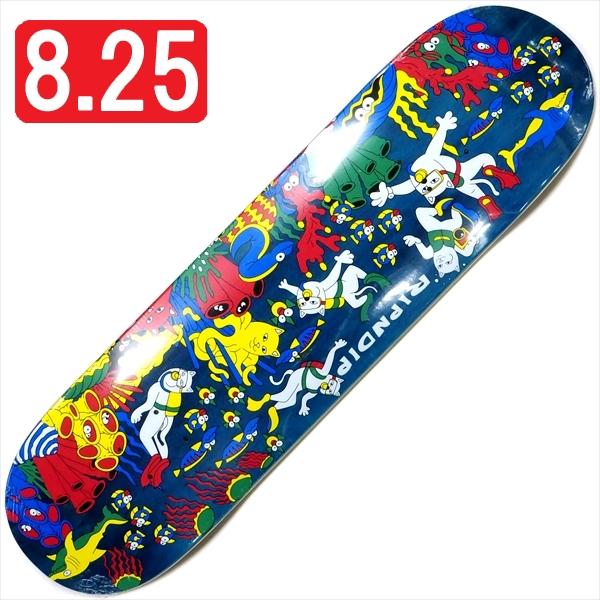"""【8.25"""" デッキ スケートボード リップンディップ】Rip N Dip Under The Sea Blue 8.25"""""""