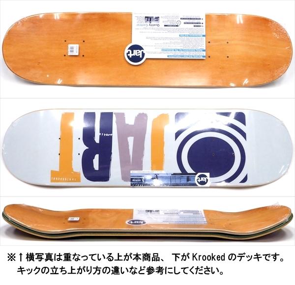 """【8.25"""" デッキ スケートボード ジャート】Jart Classic 8.25"""" LC"""