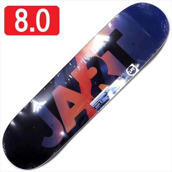 """【8.0"""" デッキ スケートボード ジャート】Jart Evening 8.0"""" HC"""