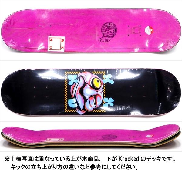 """【8.0"""" デッキ スケートボード ウィークエンド】WKND Zooted Logo 8.0"""""""