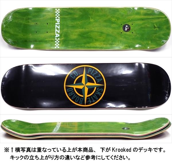 """【8.25"""" デッキ スケートボード ピザ】Pizza Stone 8.25"""""""