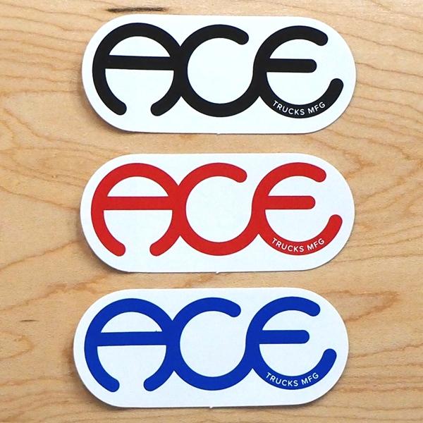 【ステッカー スケートボード エース】Ace Rings 3in