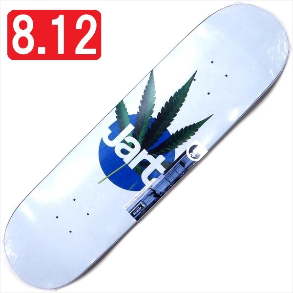 """【8.125"""" デッキ スケートボード ジャート】Jart Leaf 8.125"""" Blue HC"""
