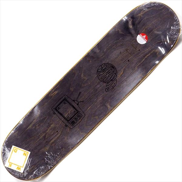 """【8.25"""" デッキ スケートボード ウィークエンド】WKND Logo Veneers Assorted 8.25"""" Black"""