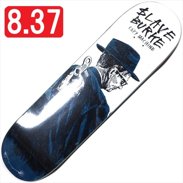 """【8.375"""" デッキ スケートボード スレイブ】Slave Pat Burke Copy Machine 8.375"""" Blue"""