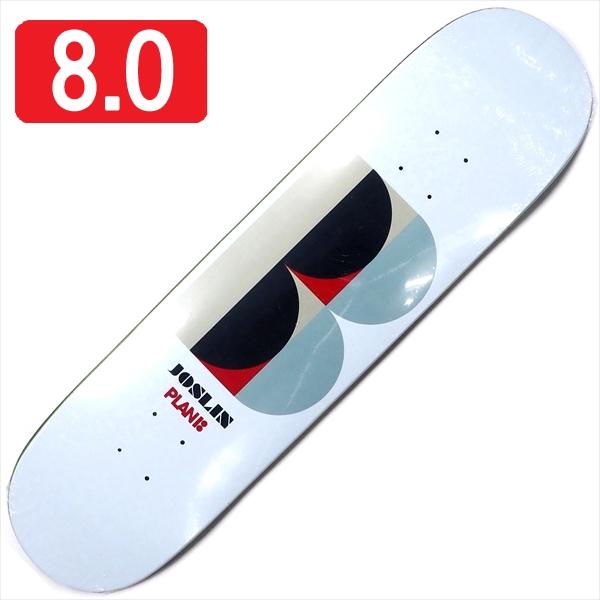 """【8.0"""" デッキ スケートボード プランビー】Plan B Chris Joslin Deco 8.0"""""""