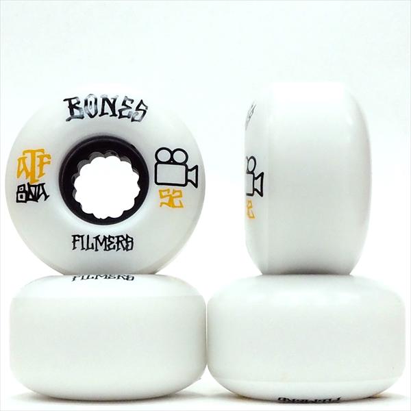 【52.0mm スケートボード ウィール ボンズ】Bones ATF 80A Filmer 52mm