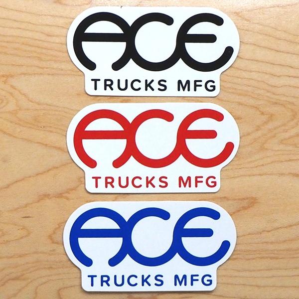 【ステッカー スケートボード エース】Ace Standard Logo 3in