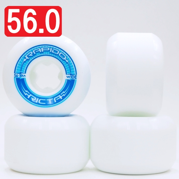 【56.0mm スケートボード ウィール リクタ】Ricta Rapido Wide 101A 56.0mm