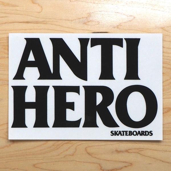 【ステッカー スケートボード アンタイヒーロー】Antihero Blackhero Black