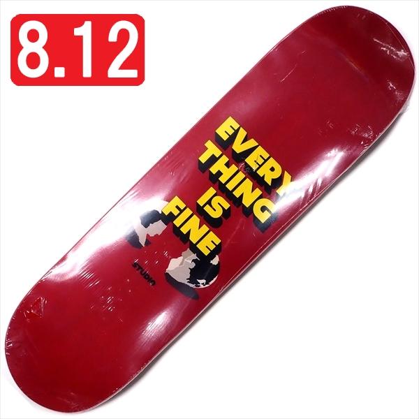 """【8.12"""" デッキ スケートボード スタジオ】Studio Im Fine 8.12"""""""