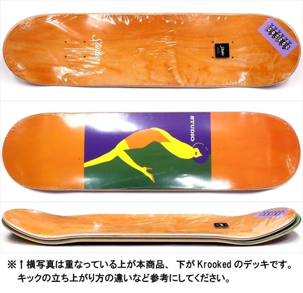 """【8.0"""" デッキ スケートボード スタジオ】Studio Kiss 8.0"""""""