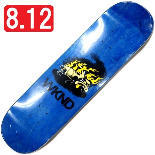 """【8.125"""" デッキ スケートボード ウィークエンド】WKND Van Down 8.125"""" Blue"""