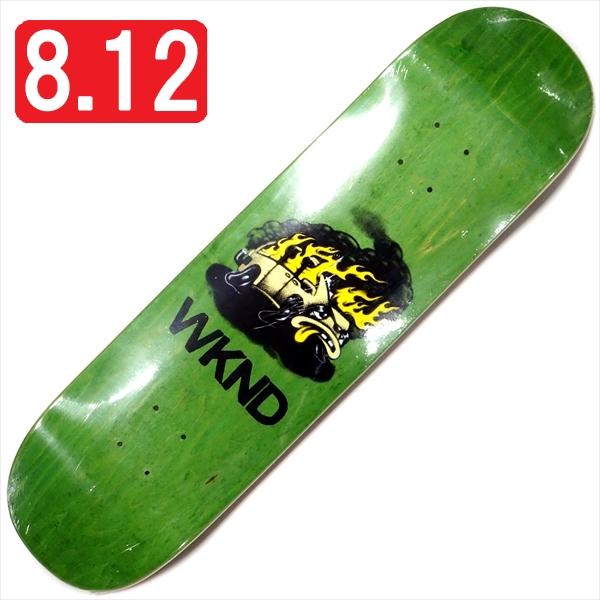 """【8.125"""" デッキ スケートボード ウィークエンド】WKND Van Down 8.125"""" Green"""