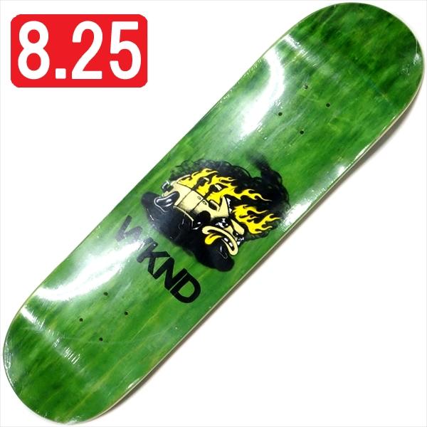 """【8.25"""" デッキ スケートボード ウィークエンド】WKND Van Down 8.25"""" Green"""