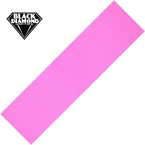 【グリップテープ スケートボード ブラックダイアモンド】Black Diamond Pink