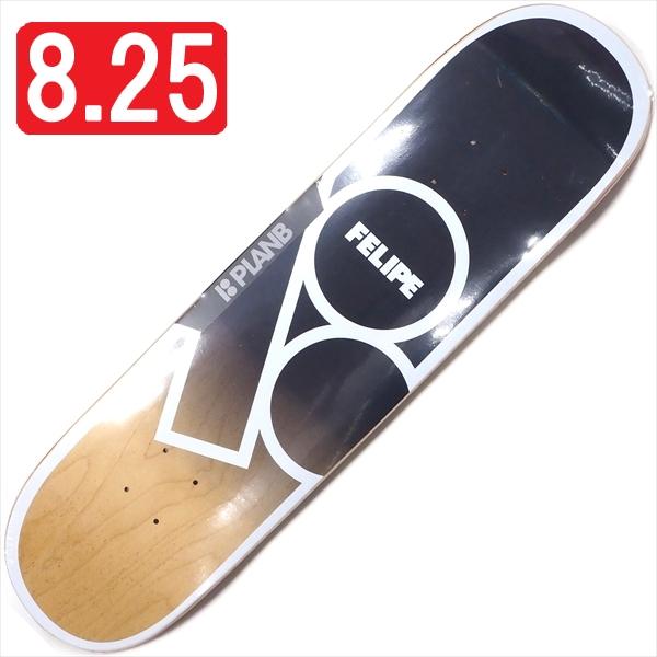 """【8.25"""" デッキ スケートボード プランビー】Plan B Felipe Gustavo Andromeda 8.25"""""""