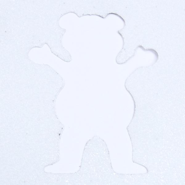 """【グリップテープ スケートボード グリズリー】Grizzly Clear Cut Out 10.0"""""""