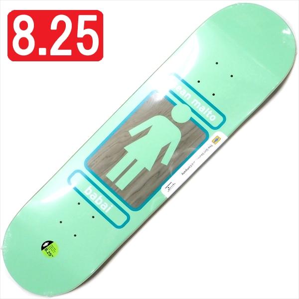 """【8.25"""" デッキ スケートボード ガール】Girl Sean Malto 93 Til W41 8.25"""""""