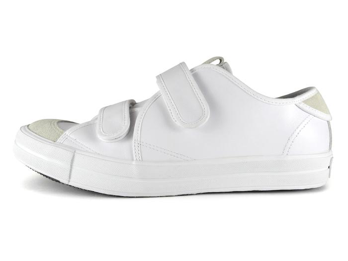 SANDWICH-LO STRAP LEATHER White