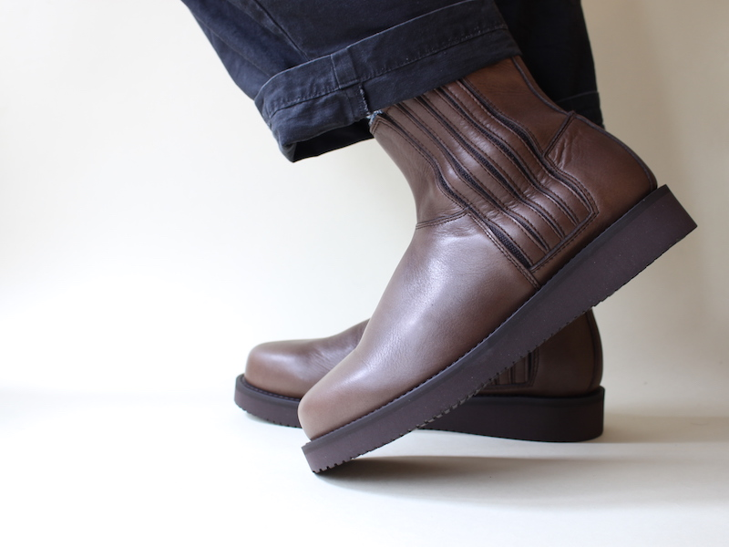 GULL MID LEATHER WP Dark Brown