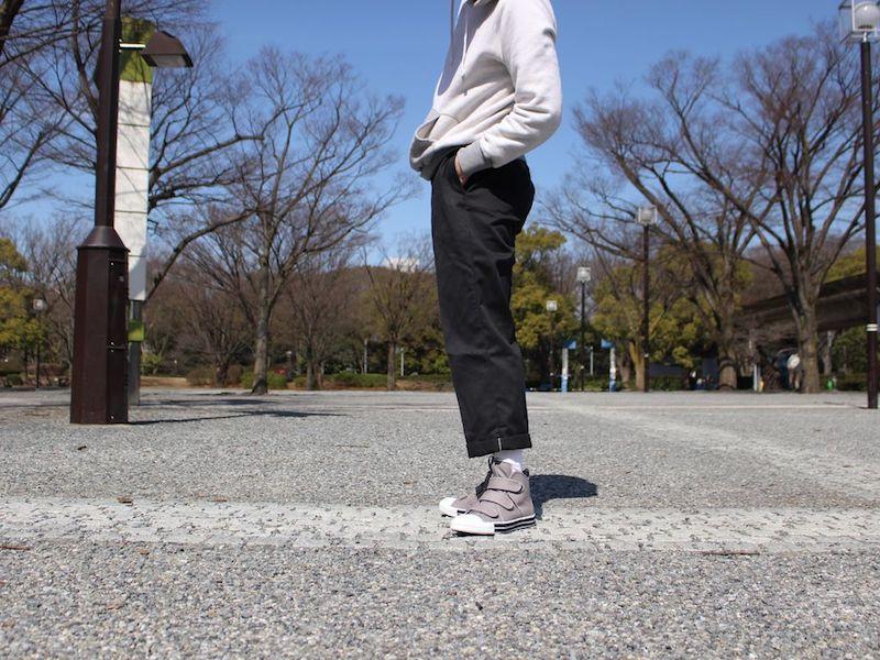 SANDWICH-HI STRAP TC Grey