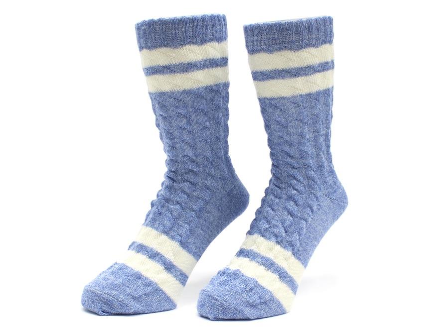 《SALE》《ゆうパケット対象》FISHERMAN LINE SOCKS Blue