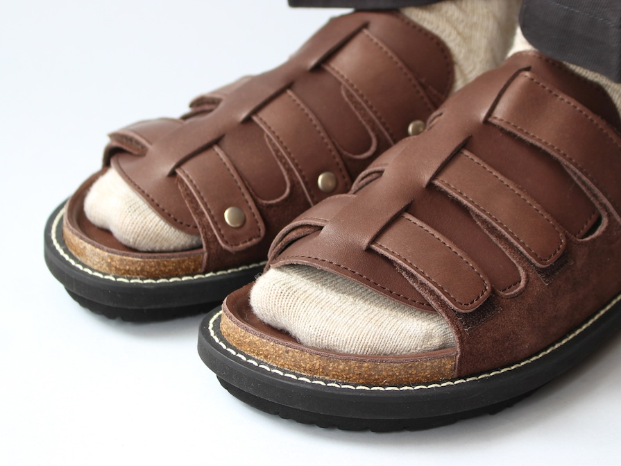 《SALE》PUFFIN 3 Brown×Brown