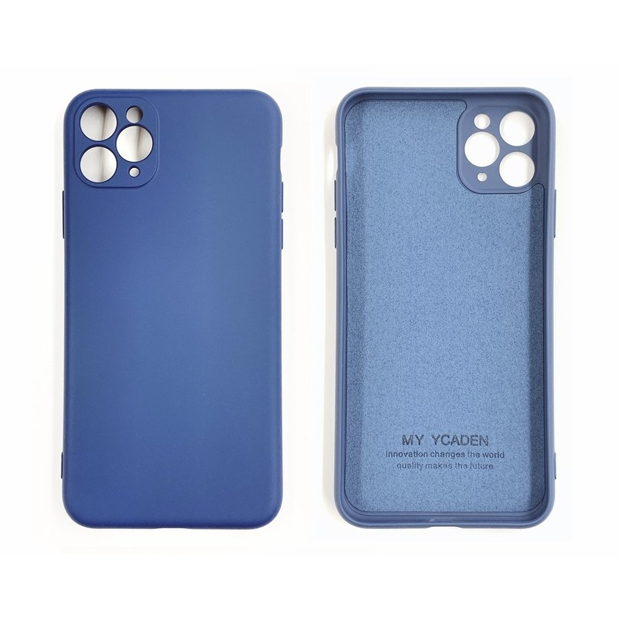 silicon case with camera frame for iPhone11 proシリーズ[在:A/N]