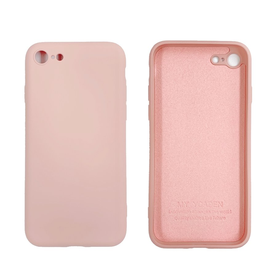 silicon case with camera frame iPhoneSE(4.7inch) / 8 / 7[在:A/N]
