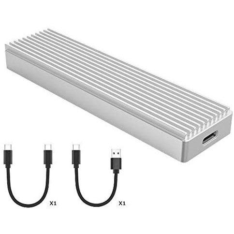 ORICO USB-C NVME M.2 SSDケース(M Key)対応 USB 3.1 Gen2 10Gbps 外付けケース 2230/2242/2260/2280 SSD対応 M.2 SSD 変換アダプタ エンクロージャ M2PJ-C3