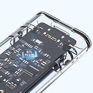 NVMeとSATA仕様のSSDがどちらも対応  NVMe&SATA両対応 ORICO USB3.1 M.2 SSDケース (M Key/B&M Key)SSD対応 USB3.1 Gen2 10Gbps 外付けケース