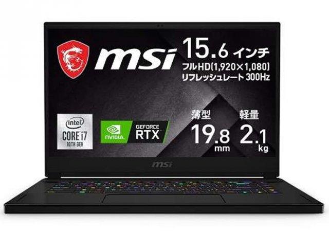 MSI ゲーミングノート GS66 Stealth 10U GS66-10UG-003JP RTX 3070で真のマシンへ進化