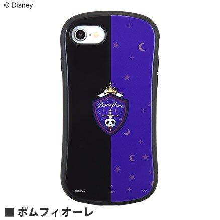 ツイステッドワンダーランド(ツイステ)iPhone/SE(第二世代)/8/7/6s/6対応ハイブリッドガラスケース  各ロゴ