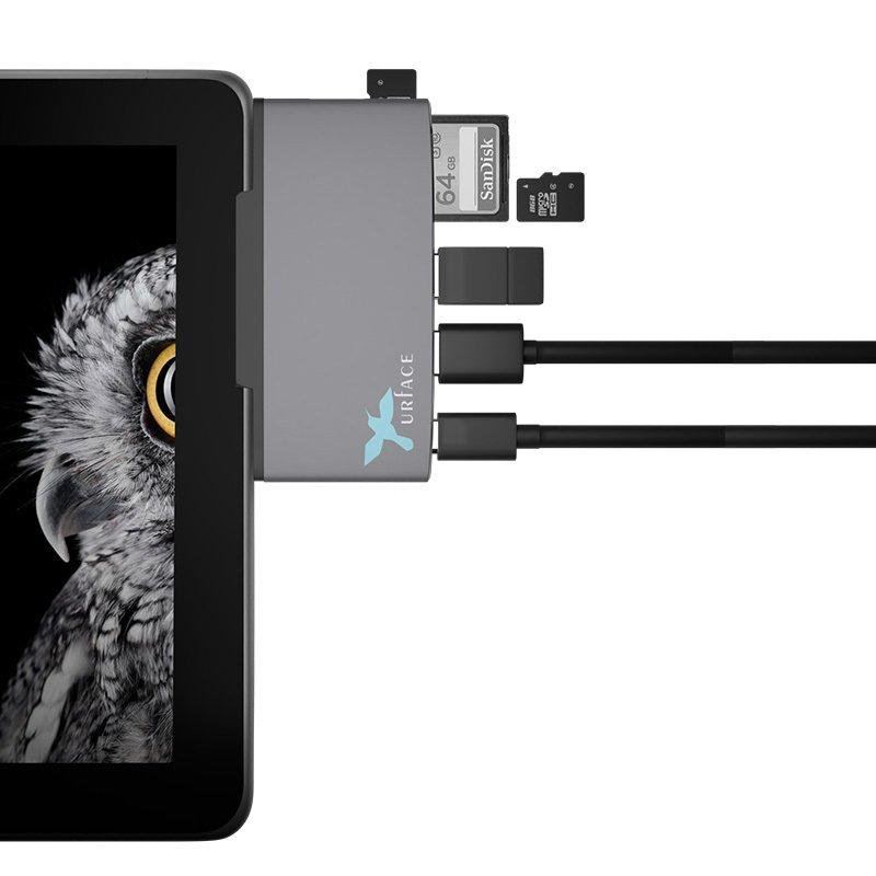 IMD-SGO350 Surface Go アダプタ USB変換ドッキングサプライ SD PD