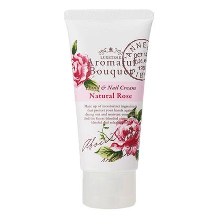Aromaful Bouquet(アロマフルブーケ)ハンド&ネイルクリーム【ナチュラルローズ】