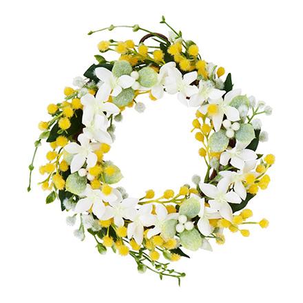 ディアフラワーズ フローラルリース【レモンの花と棘】