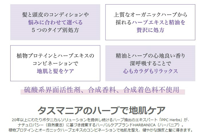 HERBANICA(ハーバニカ)ハーブ&ラベンダー【コンディショナー】