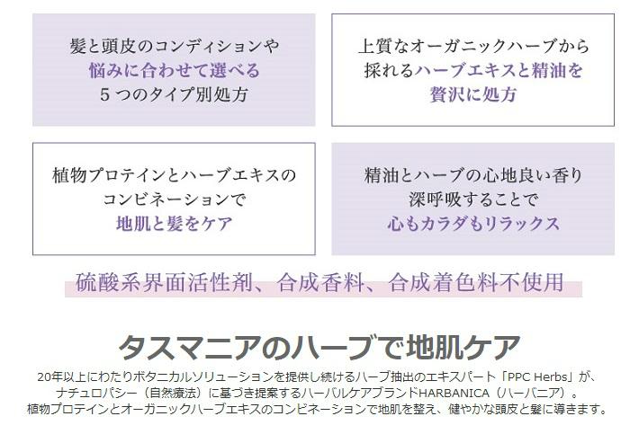 HERBANICA(ハーバニカ)ボリュマイザー【シャンプー】