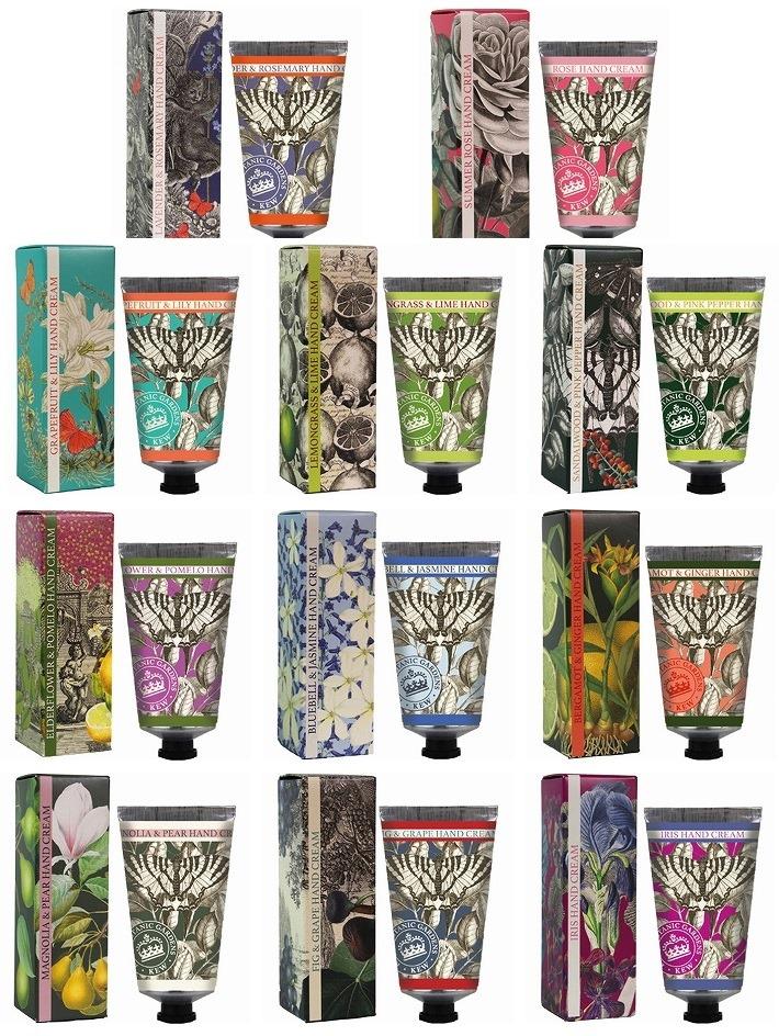 English Soap Company(イングリッシュソープカンパニー)ラグジュアリーハンドクリーム【レモングラス&ライム】