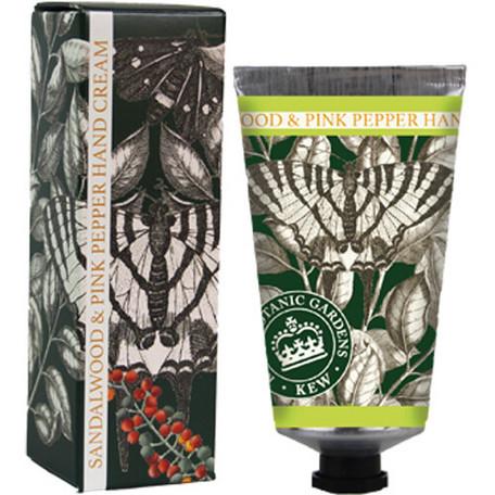 English Soap Company(イングリッシュソープカンパニー)ラグジュアリーハンドクリーム【サンダルウッド&ピンクペッパー】