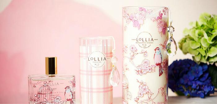 LOLLIA(ロリア) WI(Wish you happiness.) 【オードパルファム】