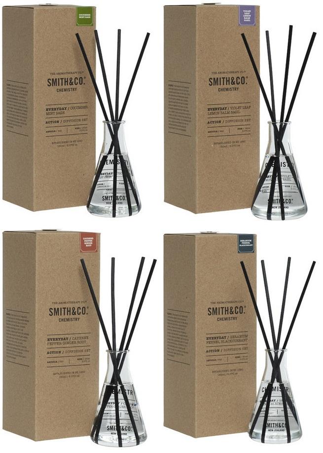 Smith & Co.(スミスアンドコー)ケミストリーディフューザー【Geranium Fennel Black Currant(ゼラニウムブラックカラント)】