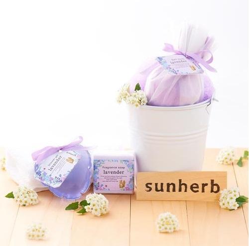 SUNHERB(サンハーブ) フレグランスソープ【グリーングラス】