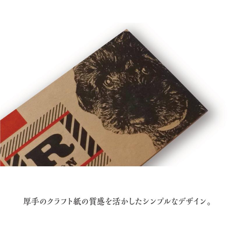 うちの子名刺 Kraft 横/両面/50枚