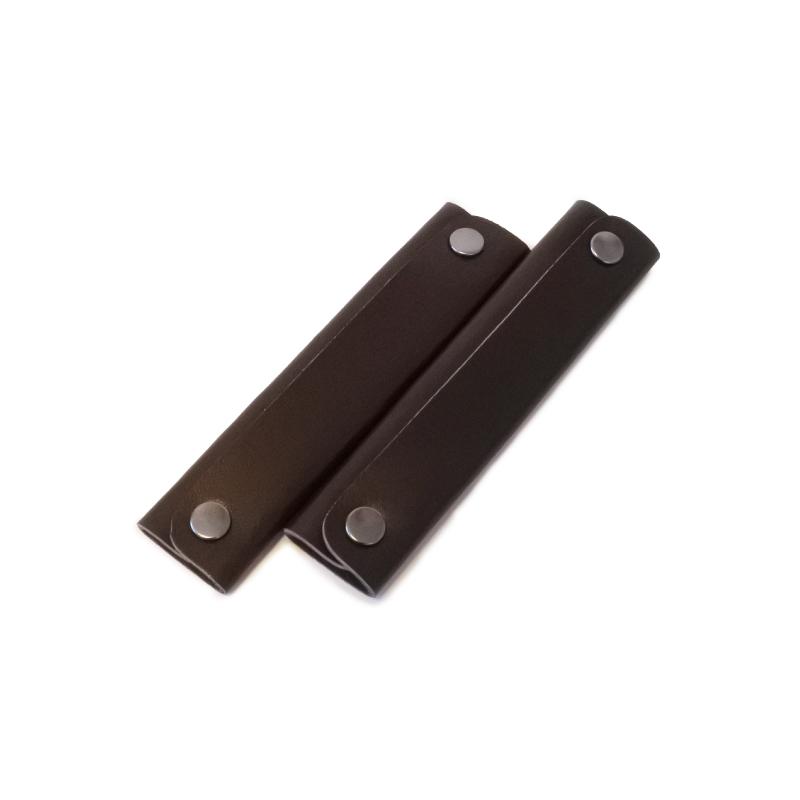 トートバッグの取っ手の汚れを防ぐ本革のハンドルカバー