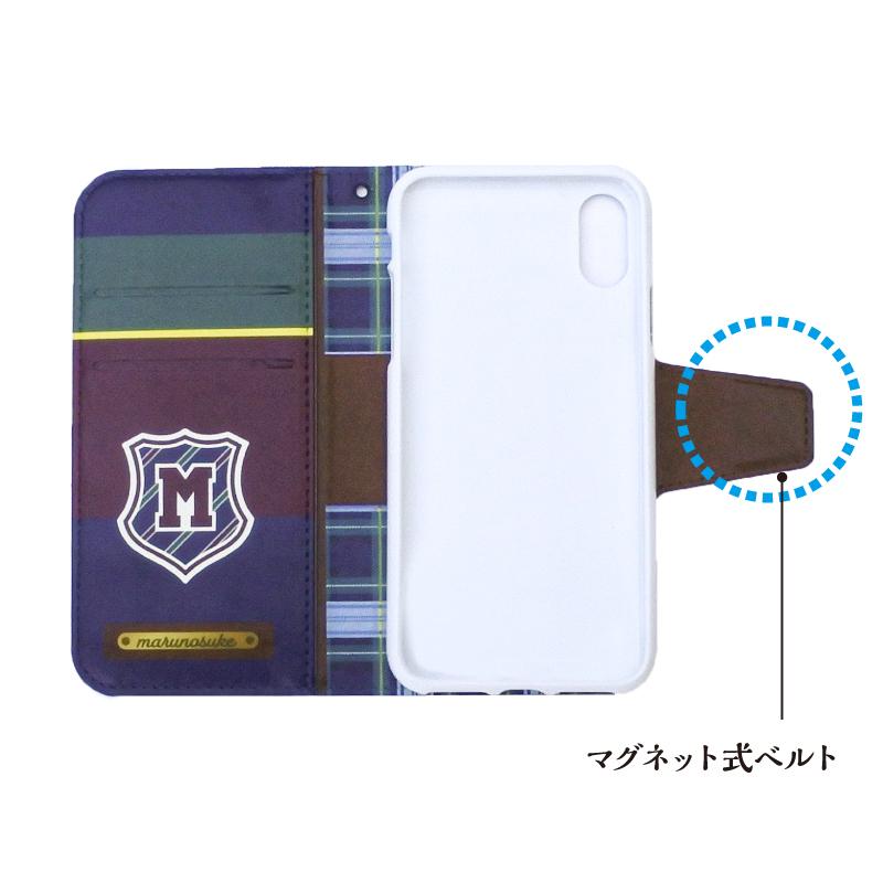 手帳型スマホケース [iPhone用]【トラッド】